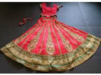 STUNNING DESIGNER INDIAN WEDDING LENGHA