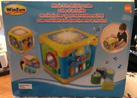 WinFun Music Fun Activity Cube New