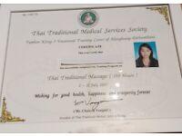 Thai Massage fix body pains