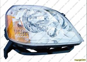 Head Light Passenger Side Without Signal Lamp Socket High Quality Ford 500 2005-2007
