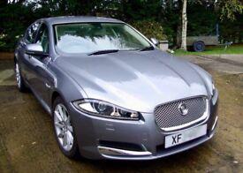 Jaguar XF Premium Luxury 2.2d. FSH. Low miles. Excellent condition. Jag warranty to 16June2018