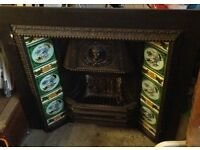Victorian fireplace