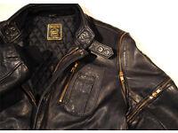 "Hein Gericke Leather Original Classic Spitfire Jacket. Size Euro 46 38"" Chest"