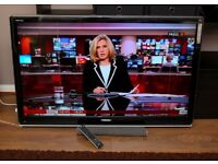 """Very nice 52"""" TOSHIBA REGZA FULL HD TV, HDMIs, FREEVIEW, remote ! FULLY WORKING ! VERY GOOD COND. !"""