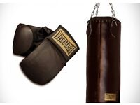 Boxitalia Vintage Collectible Boxing Punchbag and Gloves