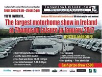Largest Motorhome Show in Ireland at Thompson Leisure