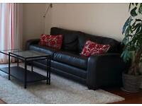 FREE Brown 3 seater leather sofa - from John Lewis
