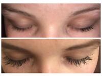Individual eyelash extensions £18