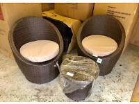 Brand new major online retailer rattan garden furniture