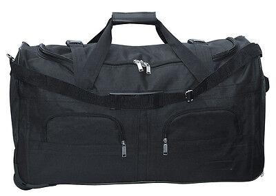 Sporttasche Reisetasche mit ausziehbarem Teleskop Griff Sport Reise Tasche 80 l