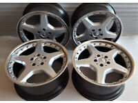 Original 19'' Mercedes S CL E AMG alloy wheels BBS, C215 C216 W220 W221 W212