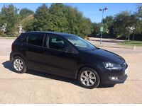 Volkswagen Polo 1.4 • 2011/2012 (61 plate) • Black • New Shape • 5Door • a/c • Long MOT