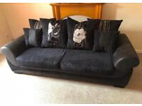 3 seater sofa, memory foam seats, pet and smoke free, amazing condition