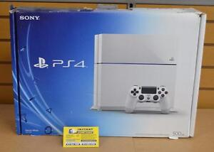 Console Playstation 4 500GB blanche avec manette
