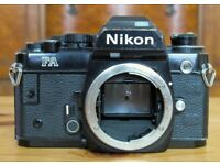 Nikon FA Black 35mm Film Camera Body Only