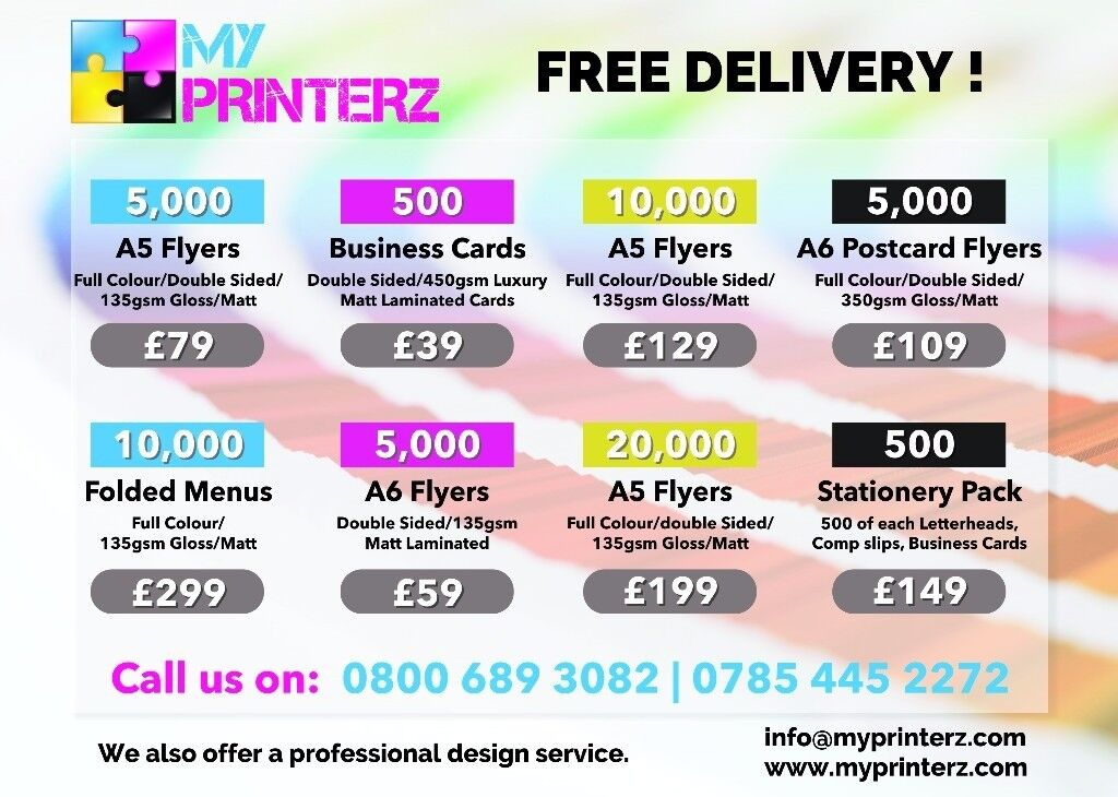 CHEAP FLYER LEAFLET BUSINESS CARDS POSTER BANNER STICKER PRINTING ...