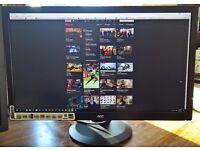 """AOC q2770pqu 27"""" 2K QHD 1440p 2560x1440 LED Monitor"""
