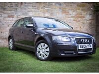 SUPERB EXAMPLE AUDI A3 SPORTBACK MODEL 5 DOOR HATCHBACK IN NICE GREY COLOUR LOOKS AND DRIVES AMAZING