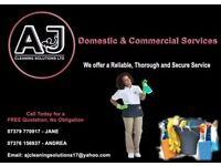 AJ Cleaning Solutions ltd , Experts in Domestic and Commercial Cleaning