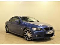 BMW 3 SERIES 2.0 320I M SPORT 2d 168 BHP (blue) 2008