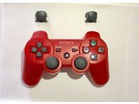 Sony Playstation 3 Red and Black Controller Spaires / Repairs