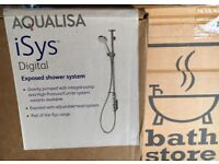 Brand new unopened boxed AQUALISA ISYS SHOWER. Cost £919