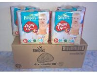 PAMPERS EASY Up PANTS - SIZE 5