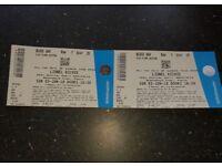 2x lionel richie tickets