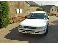 Toyota corolla 1996 Low millage good condition