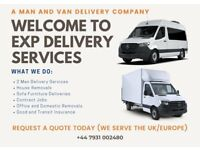 Cheap man and van service £18.ph call now for booking