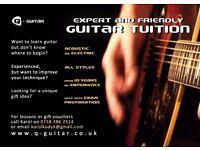 Guitar Tutor in North London