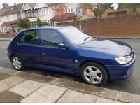 2001 Peugeot 306 hdi Diesel with long mot n tax looks and drives great still insured £299 no offers