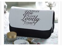 You Look Lovely Today Personalised Make-up Bag