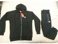 Small men's north face tracksuit