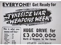 This documentary looks at the impact of WW2 on South Tyneside people share their memories of war.