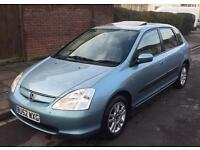 HONDA CIVIC EXECUTIVE AUTOMATIC FULL SERVICE HISTORY