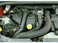 2011 RENAULT CLIO MK3 1.5DCI DIESEL K9K 770 ENGINE WITH INJECTORS AND FUEL PUMP #POSTAGE AVAILABLE