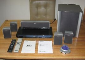 Sony Home Theatre System with Blu-ray player