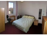 Bright double room in friendly spacious flat