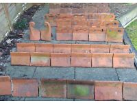 Reclaimed Victorian Clay Ridge Tiles