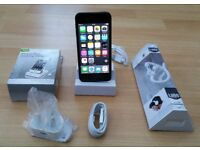 iPod Touch 5th Gen, 16GB + New Charger, Dock Station and Headphones