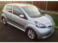 2008 TOYOTA AYGO 64000 MLS 1.0 5 DR PLATINUM EXCEPTIONAL CONDITION