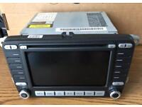 Volkswagen VW Navigation GPS Sat Nav MFD 2 Head Unit GOLF/Passat/Eos/jetta/Seat Car Parts
