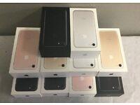 NEW iPhone 7 unlocked 32gb in gold or matt black - UK genuine Sealed