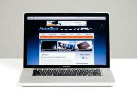 Apple MacBook Pro 15' Core i5 2.4Ghz 8GB 500GB SSD Final Cut Pro X Adobe Premiere Pro MS Office