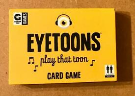Ginger Fox Music Quiz Eyetoons Card Game. Play That Toon. Contains 80 Cards.