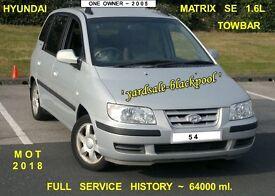 Hyundai Matrix 1.6L SE