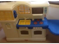 Little tykes kitchen with included accessories!