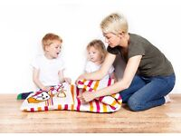 Cofi Coo Quillow - Children's Snuggly 100% Cotton Blanket folds away into soft Cushion | FREE P&P
