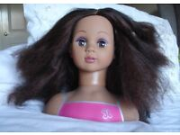 Hairdressing Doll Model Styling Head and Accessories